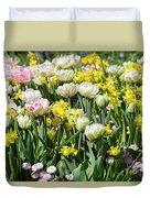 Beautiful Spring Flowers Duvet Cover