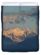 Beautiful View Of The Dolomites Mountains In Italy  Duvet Cover