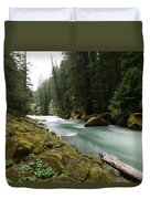 Beautiful White Water Duvet Cover