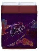 Bee Honey Bee Apis Insect Flower  Duvet Cover