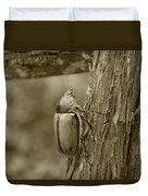 Beetle On A Log Duvet Cover