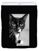 Bella The Cat Duvet Cover by Danielle Allard