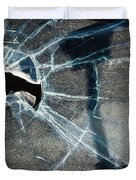 Belmont Cracked Window And Shadow 1599 Duvet Cover