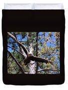 Berry College Eagle Mom Duvet Cover