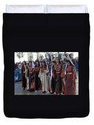 Bethlehemites In Traditional Dress Duvet Cover