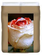 Bicolor Rose Duvet Cover