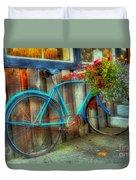 Bicycle Art 1 Duvet Cover