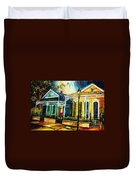 Big Easy Neighborhood Duvet Cover