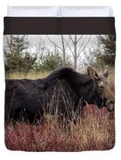 Big Mama Moose Duvet Cover