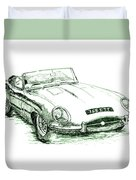 E Type Duvet Cover