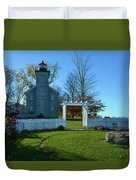 Big Sodus Lighthouse Duvet Cover