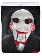 Billy The Puppet Duvet Cover