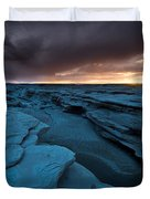 Bisti Fissure New Mexico Duvet Cover
