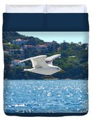 Black-backed Gull Duvet Cover