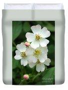 Blackberry Blossoms Duvet Cover