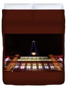 Blackpool Tower Duvet Cover