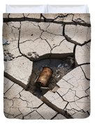 Blair Cracked Mud 1695 Duvet Cover