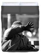Blind Man Duvet Cover