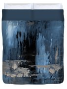 Blue Abstract 12m2 Duvet Cover