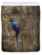 Blue And Yellow Macaw Duvet Cover