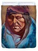 Blue Blanket Duvet Cover
