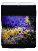 Blue Cornflowers Duvet Cover