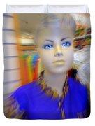 Blue Eyed Boy Duvet Cover
