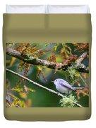 Blue-gray Gnatcatcher In Conifer Duvet Cover