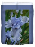 Blue Iris 2 Duvet Cover