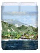 Blue Lagoon Bali Indonesia Duvet Cover