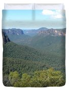 Blue Mountains Duvet Cover