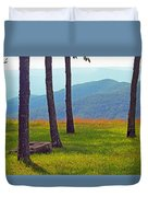 Blue Ridge Mountains - Virginia 2 Duvet Cover