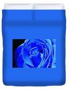 Blue Romance Duvet Cover