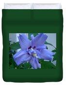 Blue Rose Of Sharon Duvet Cover