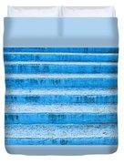 Blue Steps Duvet Cover