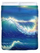 Blue Thunder Duvet Cover