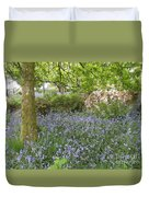 Bluebells On Dartmoor Duvet Cover