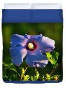 Bluebird Rose Of Sharon Duvet Cover