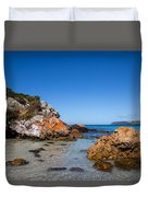 Boat Harbour Beach Duvet Cover