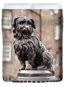 Bobby Statue, Edinburgh, Scotland Duvet Cover