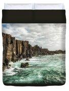 Bombo Headland Quarry At Kiama, Australia Duvet Cover