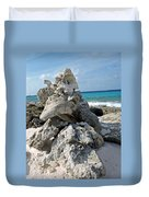 Bonaire Coral And Shells 3 Duvet Cover