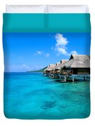 Bora Bora Lagoon Resort Duvet Cover