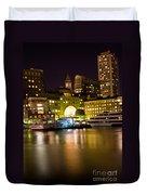 Boston Massachusetts Duvet Cover