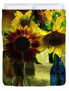 Bottled Sunshine  Duvet Cover