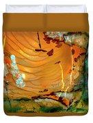 Brecciated Imperial Jasper Duvet Cover