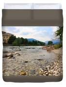 Brenta River Duvet Cover