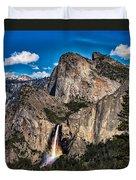 Bridalveil Falls Rainbow #2 Duvet Cover