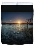 Broad Pool North Gower Duvet Cover