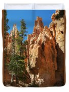 Spires On Navajo Trail Duvet Cover